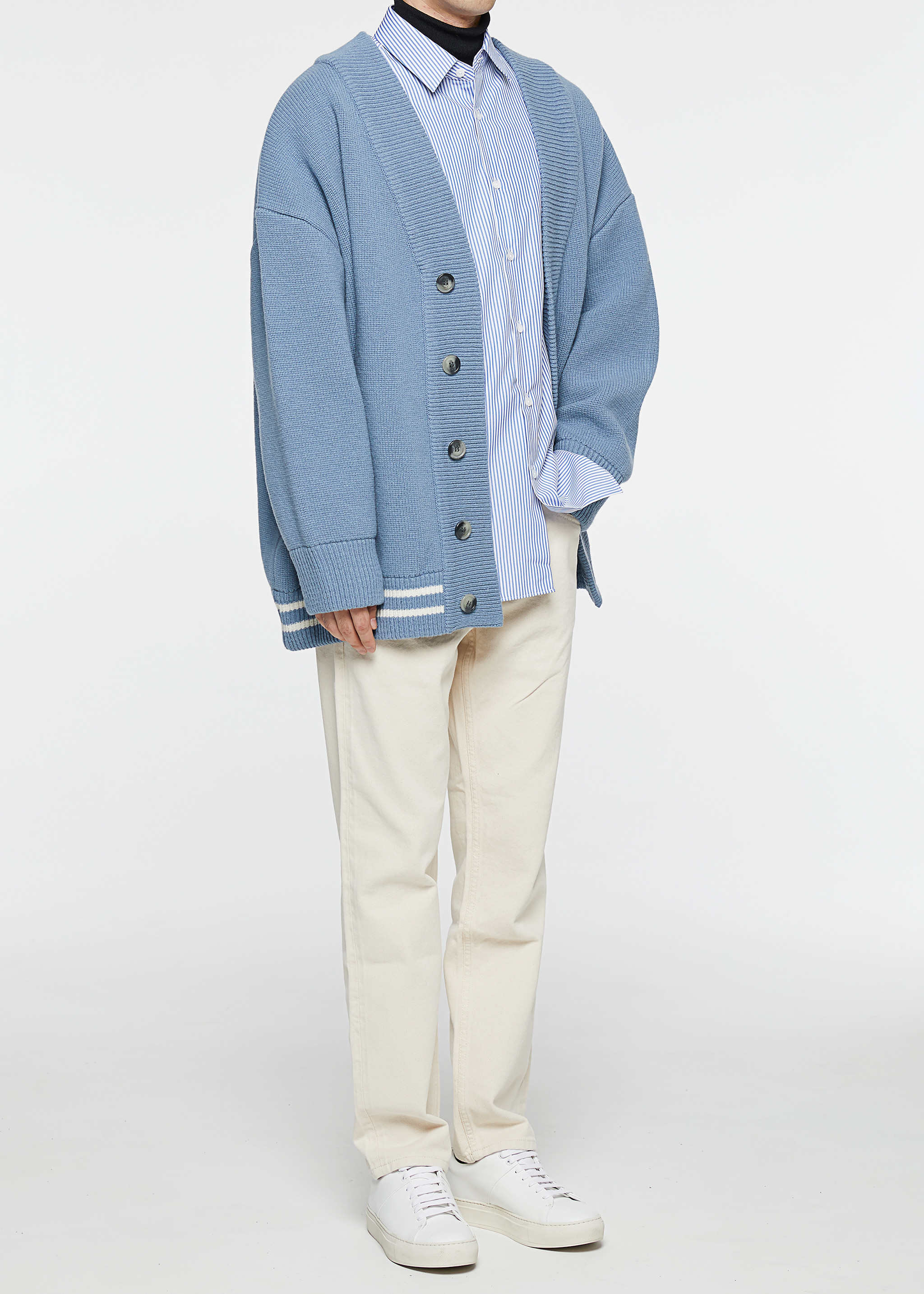 OX Cardigan (Dusty Blue)얼리버드 진행중 (~9/14)