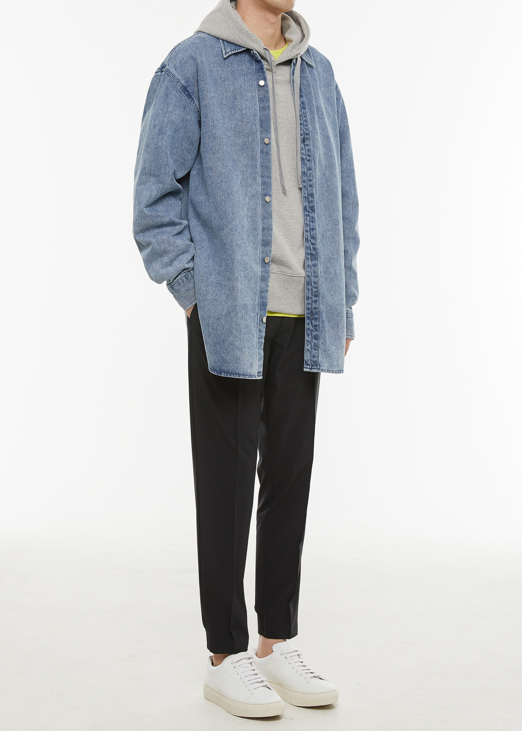 [감사세일] Denim Shirts Jacket
