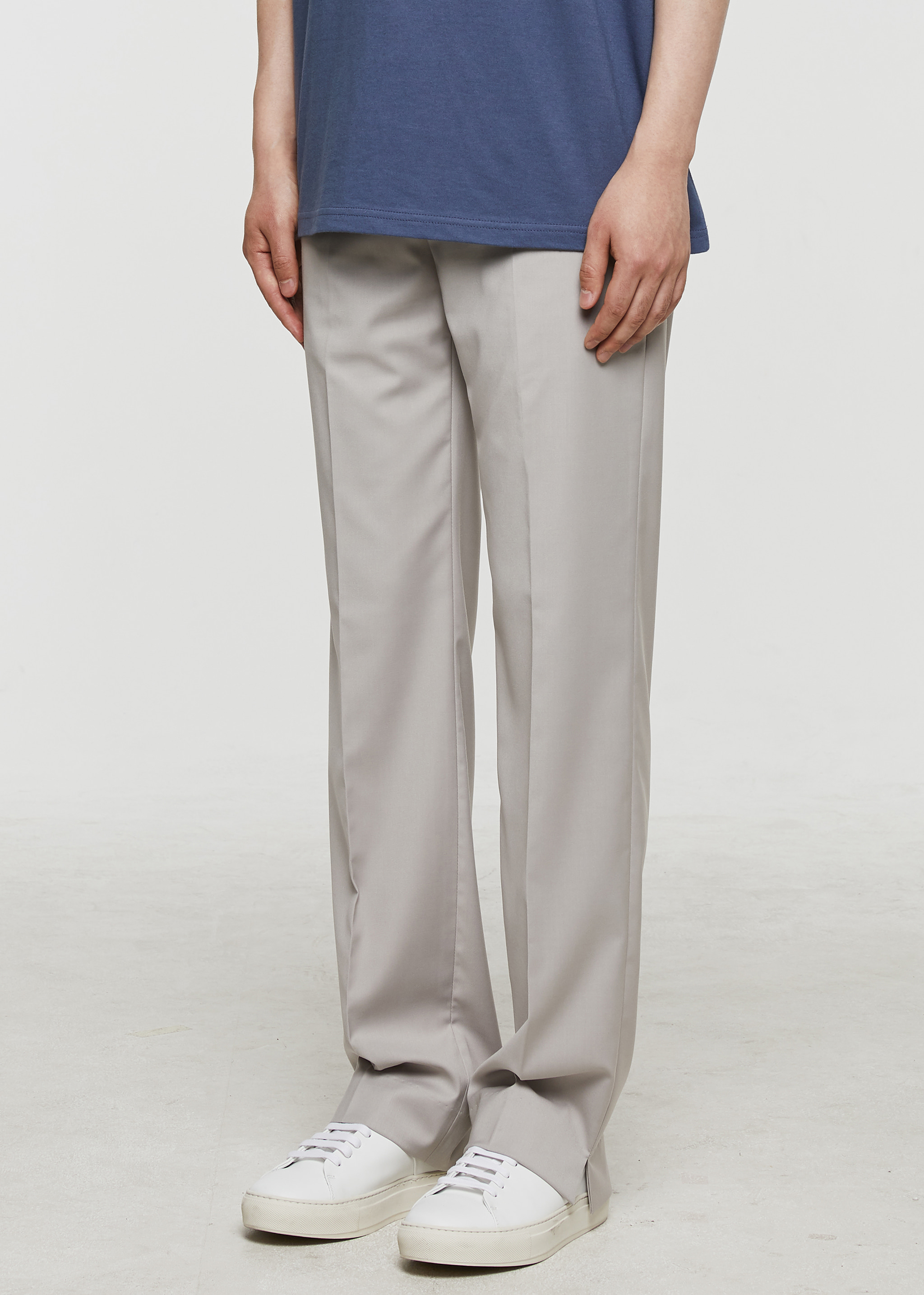 [3주년 감사세일] Semi Wide Slacks (Cream)